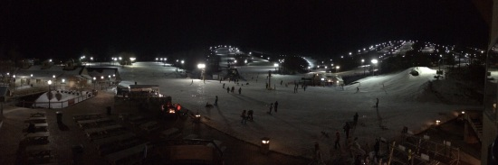 Night Skiing at White Tail, PA